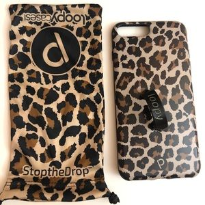 Loopy iPhone 8 Plus Cheetah Case